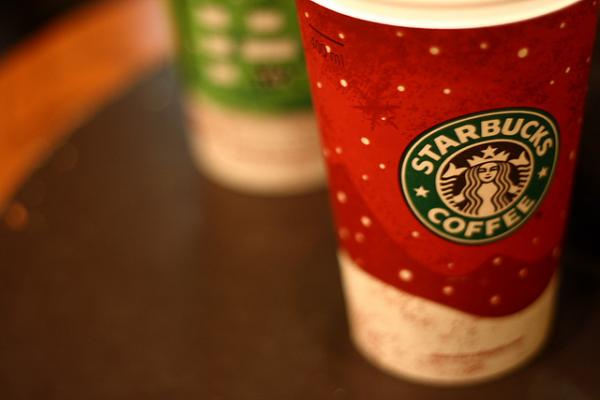 What company is the best at getting shoppers to pay with their phone? It's Starbucks.