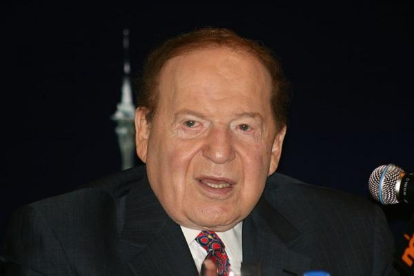 Sheldon Adelson, chairman of Las Vegas Sands and Hong Kong-listed subsidiary Sands China, donated at least 30 million dollars to conservative super PACs during the 2012 presidential campaign.