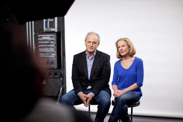 Jim Braude and Margery Eagan had their first show as co-hosts of Boston Public Radio on Monday. The two are longtime Boston radio hosts.