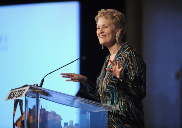 Ambassador SwaneeHunt onstage at the Fourth Annual USA TODAY Hollywood Hero Award Gala honoring Ashley Judd at the Montage Beverly Hills on Tuesday, November 10, 2009 in Beverly Hills, CA.