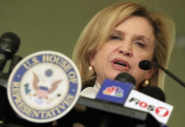U.S. Rep. Carolyn Maloney