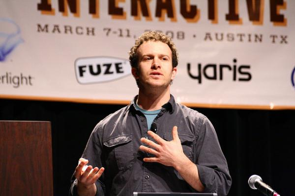 Jason Fried of 37 Signals presenting at SXSW Interactive 2008