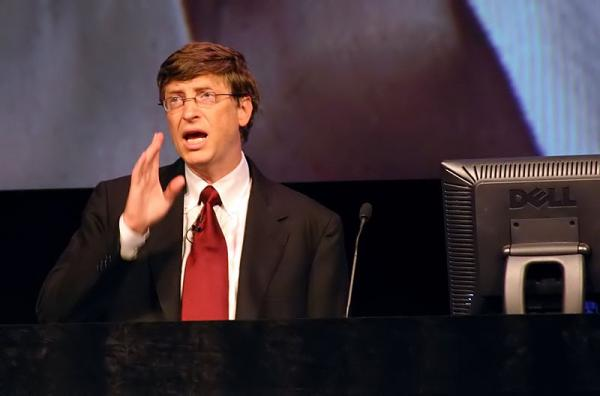 How did Bill Gates get to be America's richest man?