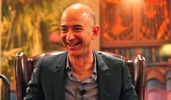 Jeff Bezos is the CEO of Amazon, one of Gregersen's most innovative companies.