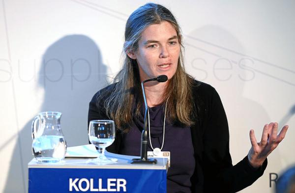 Stanford Professor and Coursera co-founder Daphne Koller at the World Economic Forum in Davos, Switzerland, January 2013.