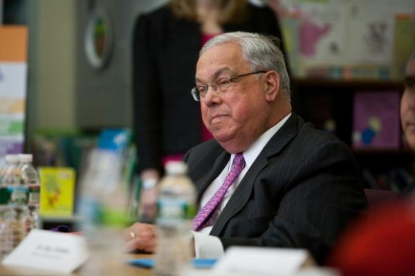Former Boston Mayor Tom Menino revealed his cancer diagnosis to the Boston Globe last Friday. Globe Editor Brian McGrory talked to BPR about it.