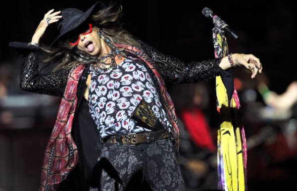 Aerosmith lead singer Stephen Tyler