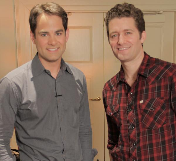 WGBH's Jared Bowen and Glee's Matthew Morrison