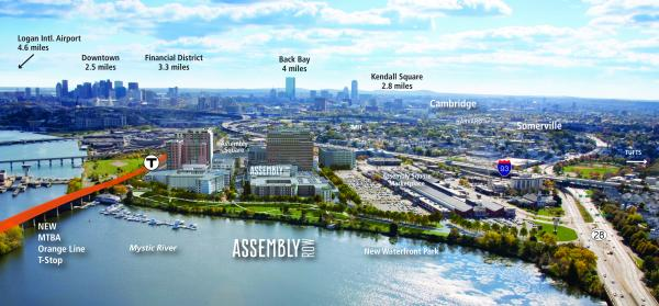 The future of Somerville's waterfront.