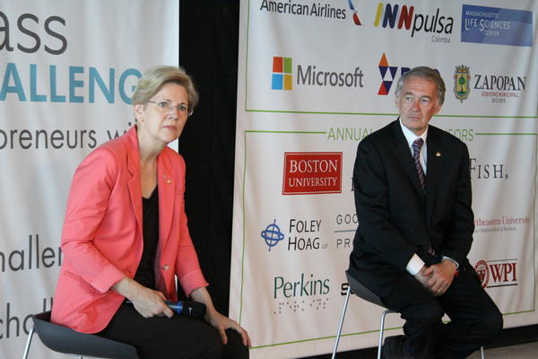 U.S. Sens. Elizabeth Warren and Ed Markey both opposed the student loan deal.