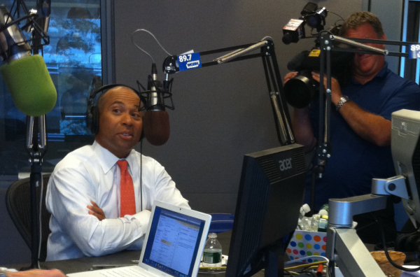 Gov. Deval Patrick on Boston Public Radio