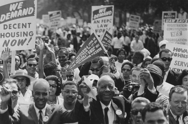 The March on Washington for Jobs and Freedom, August 28, 1963.