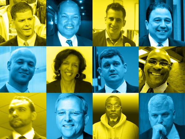 The 12 candidates for Boston mayor.