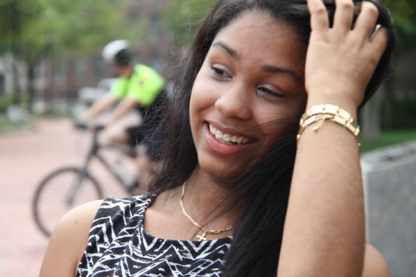 Northeastern student Jasmin Matos