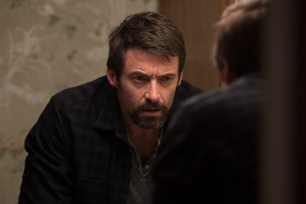 "Hugh Jackman delivers an excellent performance in ""Prisoners""."