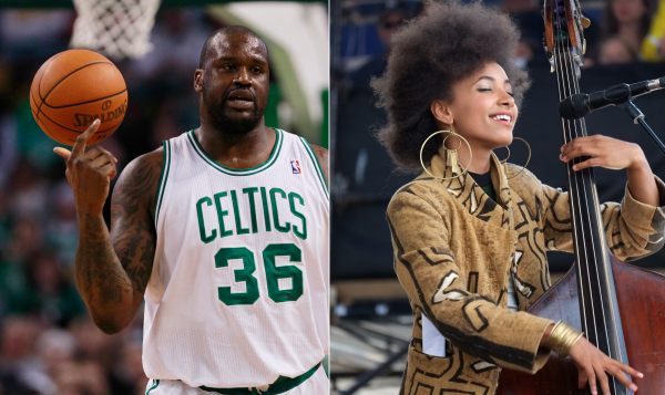 Shaquille ONeal and Esperanza Spalding, two Head Start graduates.