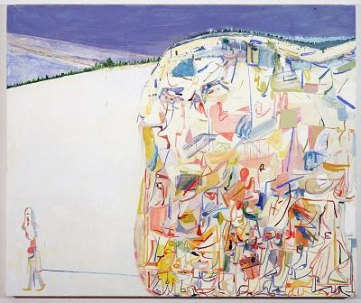 Amy Sillman, Me & Ugly Mountain, 2003