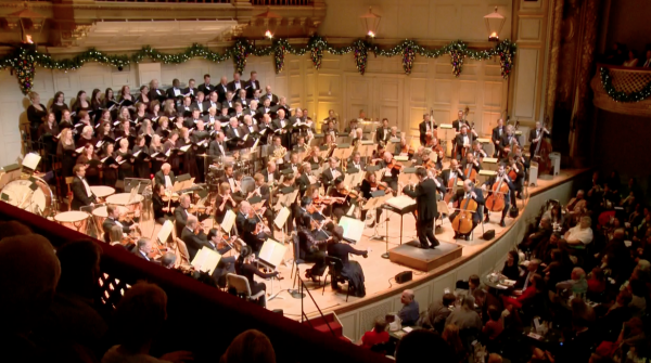 "The Boston Pops gave classic holiday carols a makeover in their new album, ""A Boston Pops Christmas."""