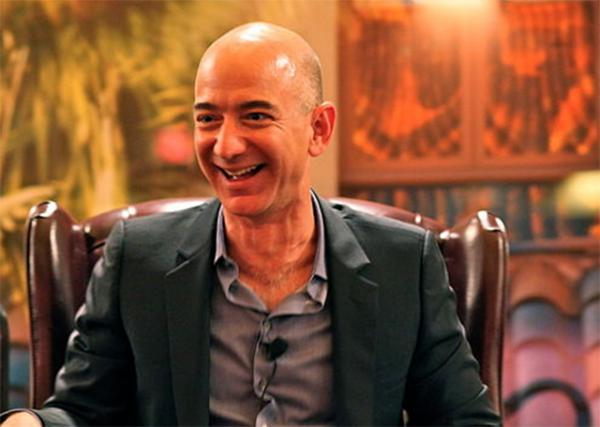 Jeff Bezos, CEO of Amazon, is the subject of a new book by journalist Brad Stone.