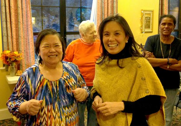 Carol, left, and Quynh Doan.