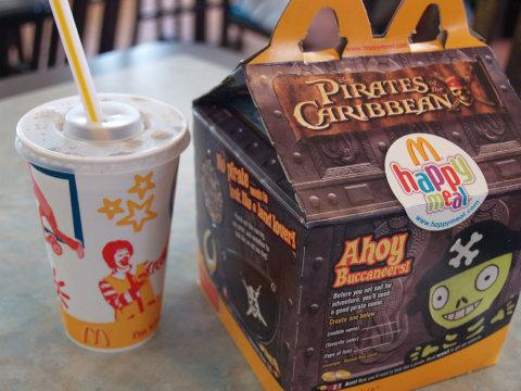 Happy meals and other high-fat foods have been linked to chilhood obesity. However, the CDC reported that obesity for kids ages two to five has gone down over the last decade.