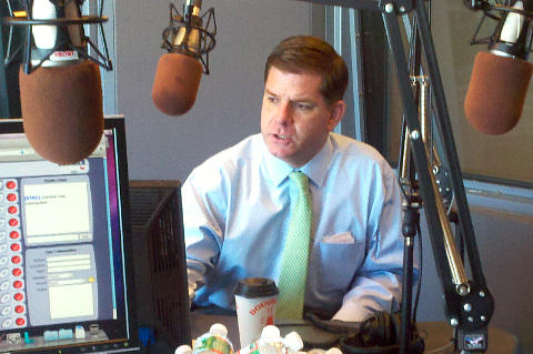 Boston Mayor Marty Walsh questioned whether protestors in Boston were willing to take action for change. Protests have erupted over grand jury decisions in Ferguson, Missouri, and in New York City.