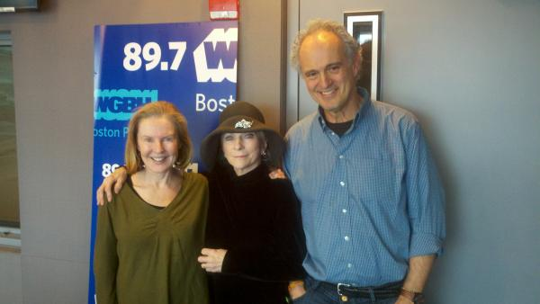 Jim, Margery and folk legend Judy Collins.