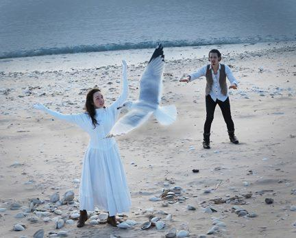 The Apollinaire Theatre Company in Chelsea does a contemporary version of The Seagull by Chekov.