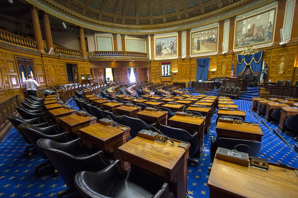 Massachusetts representatives met in this chamber as a full body for the equivalent of 69 8-hour days over the last three years.