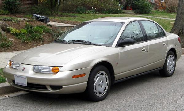 A 2001 Saturn Ion, one of the first GM vehicles found to have ignition switch problems.