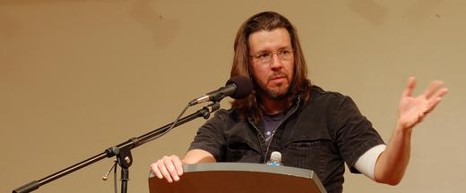 David Foster Wallace delivers his commencement speech address.