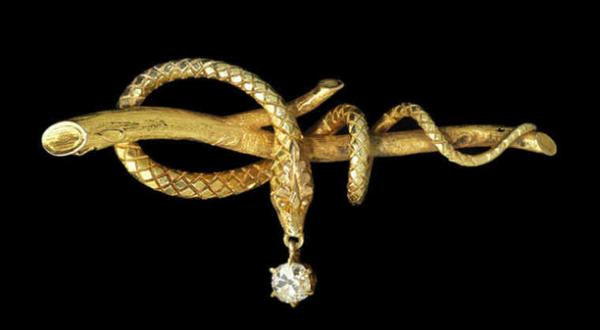 Serpent, Designer Unknown (USA), c. 1860
