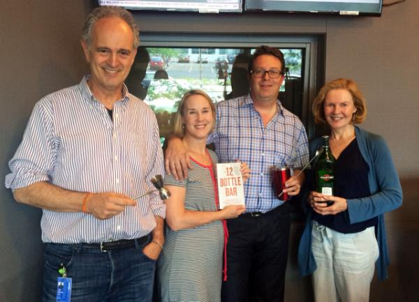 David and Lesley Solmonson joined Jim and Margery to talk about their new book The 12 Bottle Bar.
