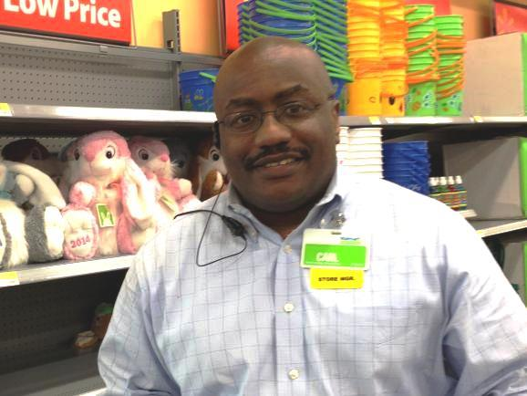 Carl Spady is the store manager at the Walmart Neighborhood Market in Midtown St. Petersburg.