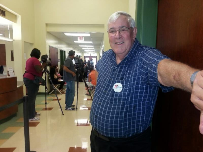 Walt Seely, volunteer for Get Covered, America