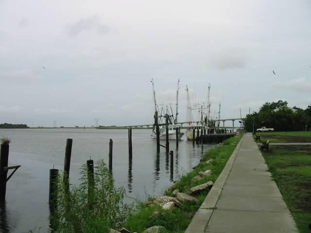 Apalachicola Bay in northwest Florida was one of the areas hit hard by the oil spill
