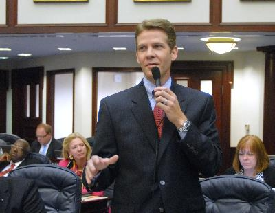 Senate President Andy Gardiner, R-Orlando.