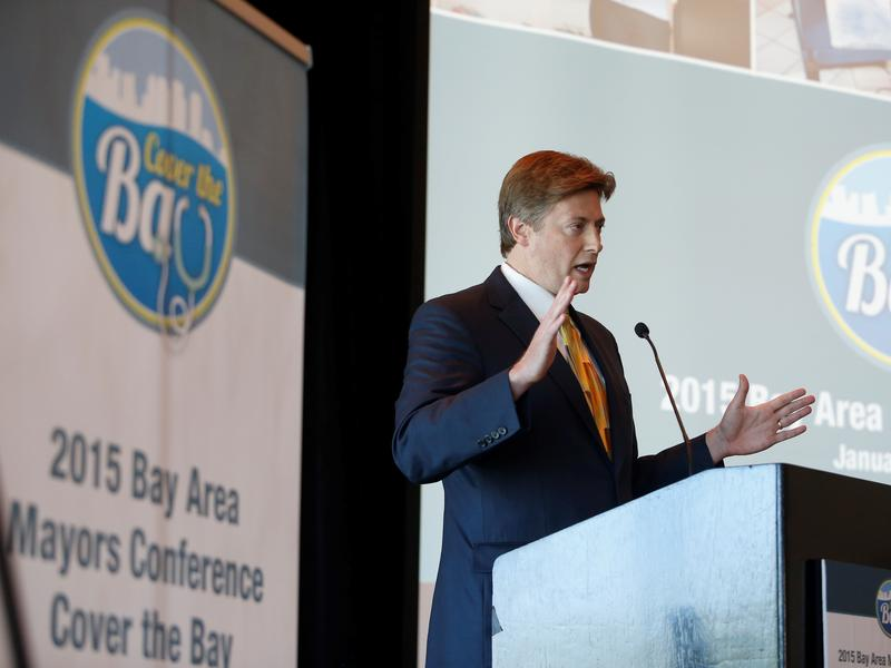 Jason Altmire, a senior vice president at Florida Blue, was the keynote speaker at Wednesday's Bay Area Mayors Conference