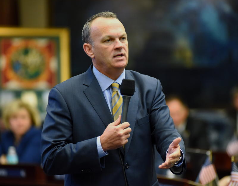House Speaker Richard Corcoran favors legislation to provide vouchers to students who have been bullied.