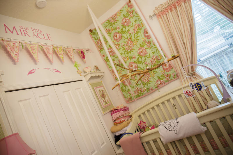 One year after her death, Everly's nursery looks exactly the same.