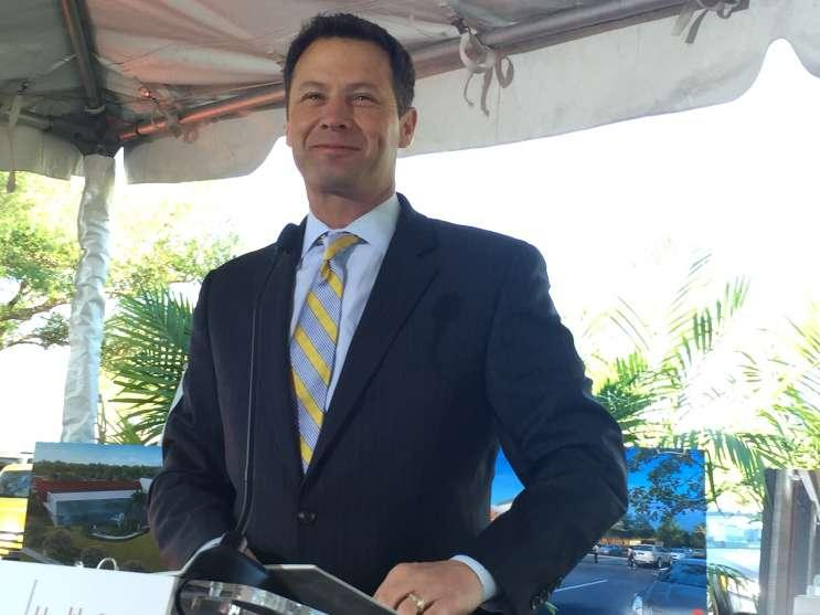 Orlando Health CEO David Strong.