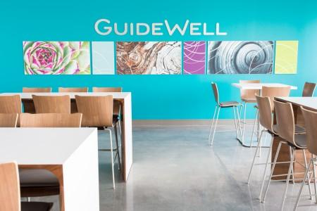 Guide Well is insurance giant Florida Blue's parent company. Its innovation building in Medical City opened earlier this year.