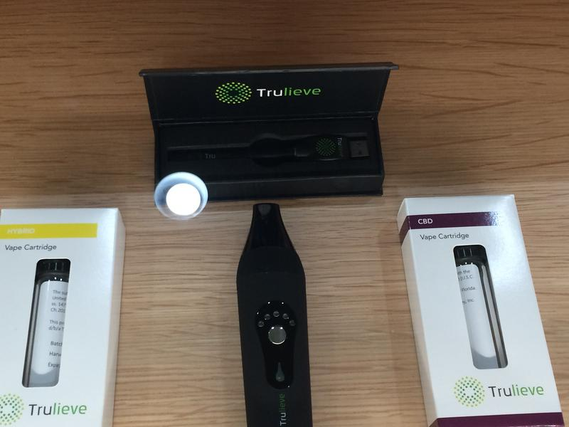 Items in Trulieve's dispensary off U.S. 19 in Clearwater.