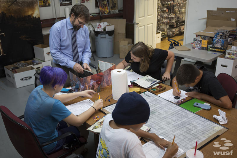 Matt Fahy says therapy already uses roleplay, but roleplay gaming makes it more fun and creative, especially for kids.