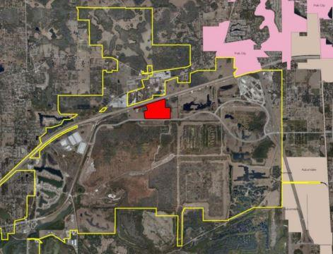 Florida Hospital purhcased 104 acres just west of Florida Polytechnic University in Polk County.