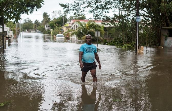Hurricane Maria left residents of Puerto Rico without power and in need of supplies.