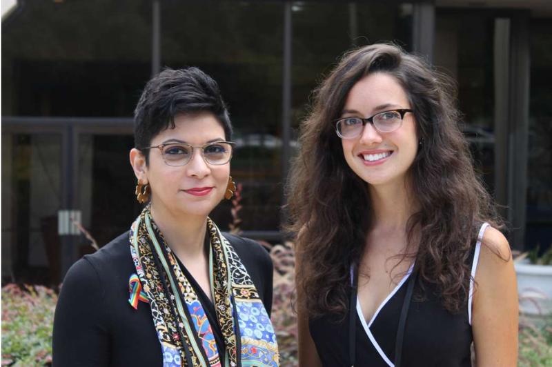 Naseem Miller and Silvia Foster-Frau.