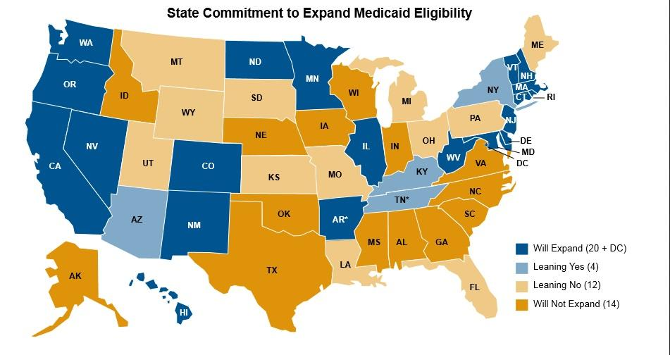 26 States May Reject Medicaid Expansion Health News Florida