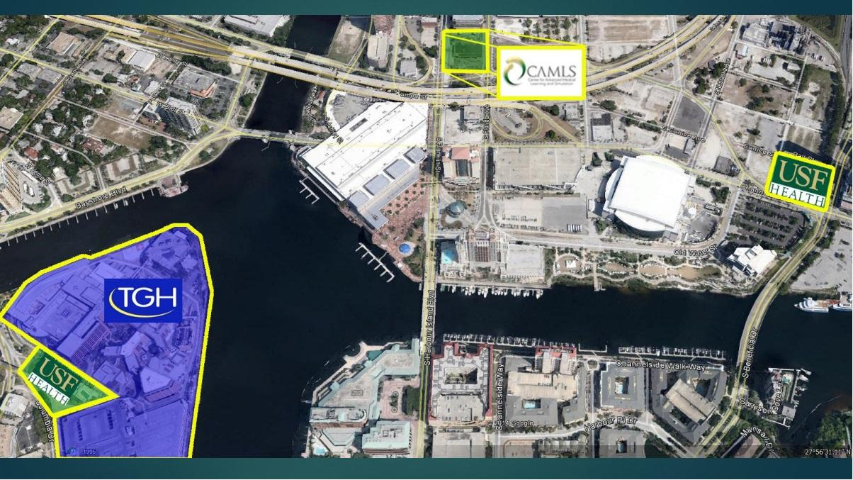 USF Downtown Tampa Med School Bigger Than Baseball Health News - Usf location map