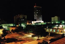 Downtown Amarillo Skyline